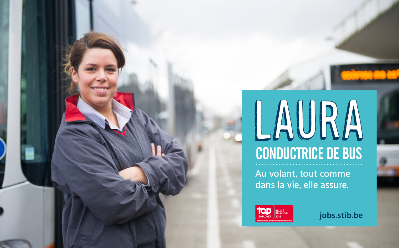 Laura, conductrice de bus