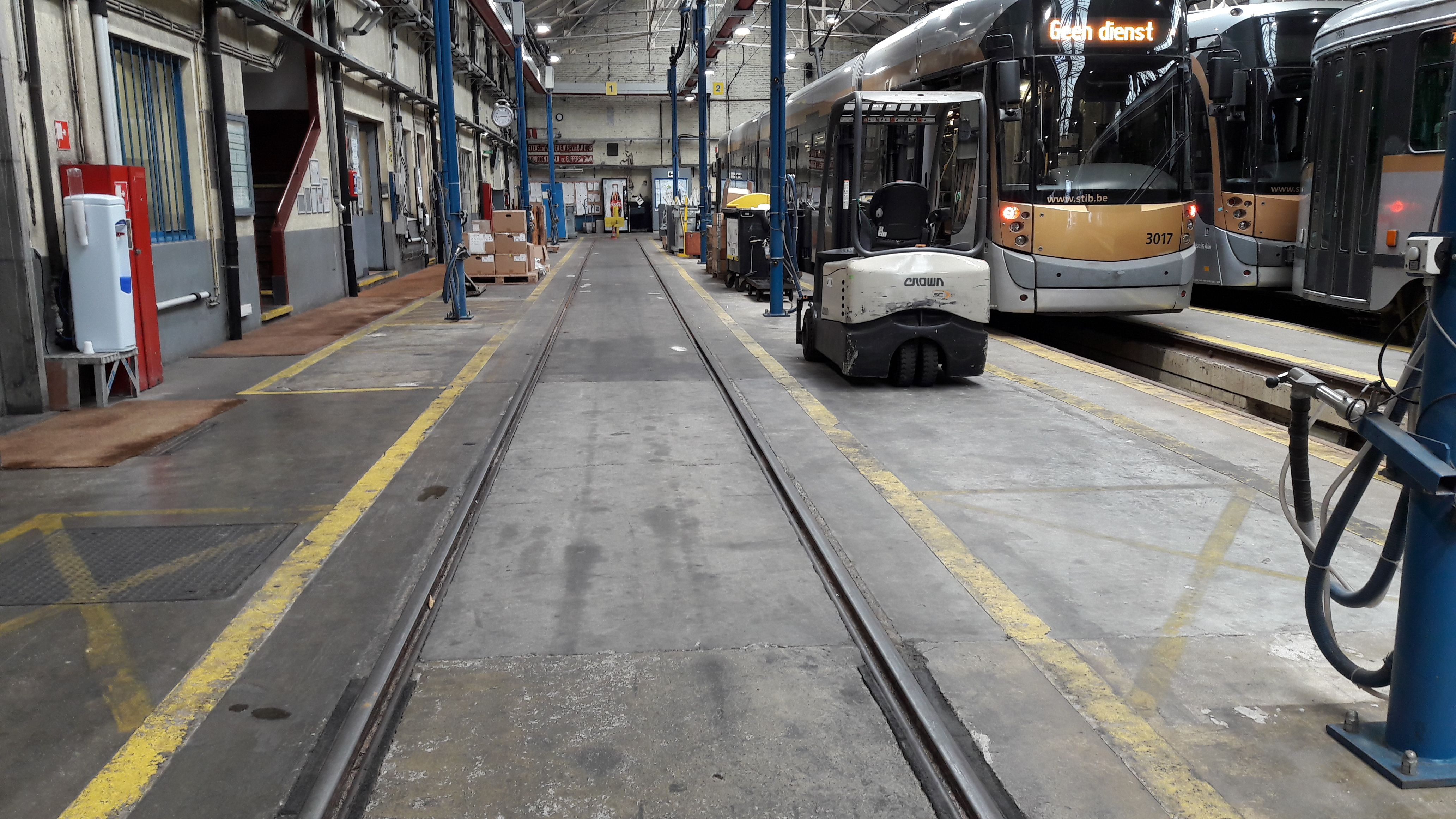 Rise and Shine ! Part 1 : le nettoyage de nos trams