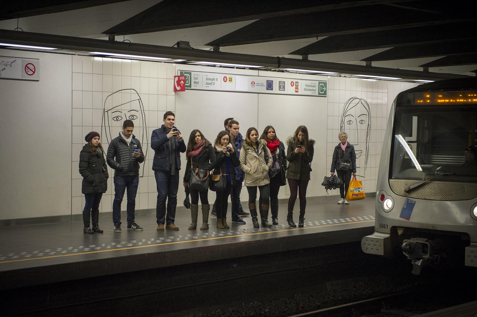 De l'opéra dans le métro