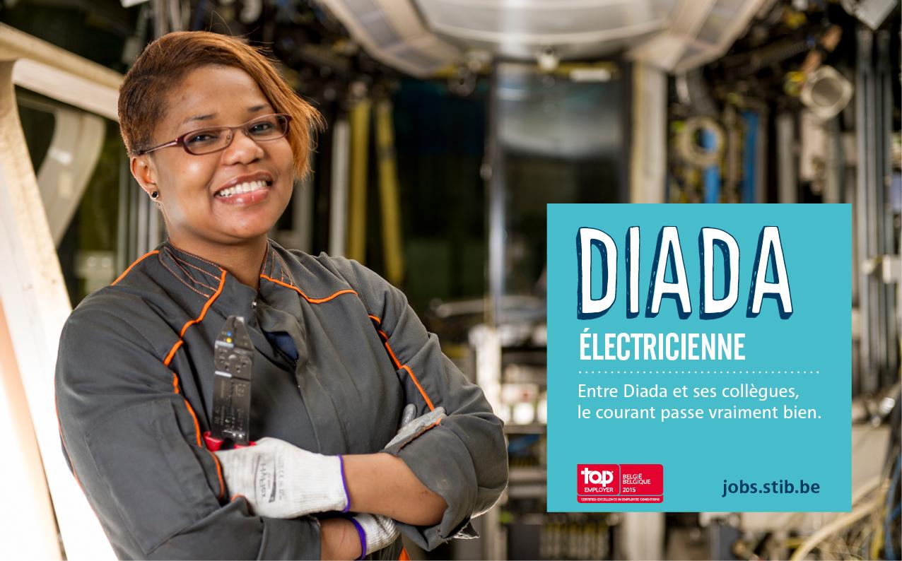 Diada, électricienne