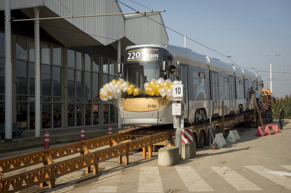 stib tram 3000 3150 haren
