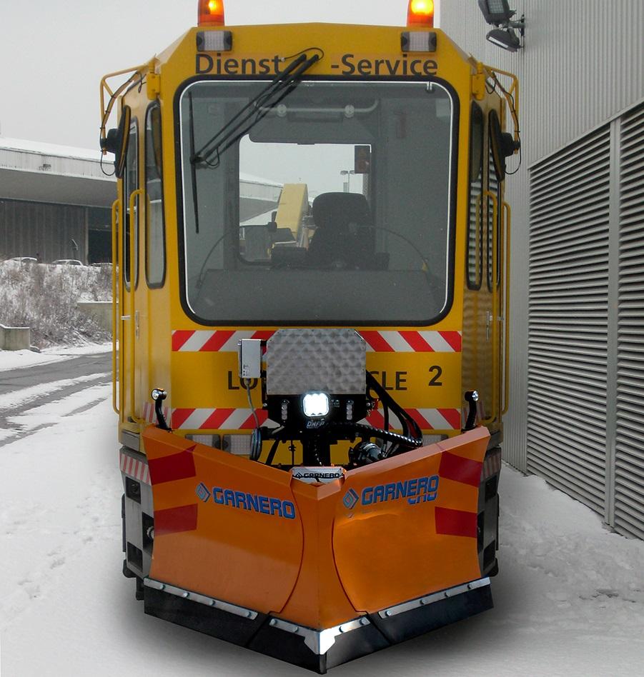 tram chasse-neige