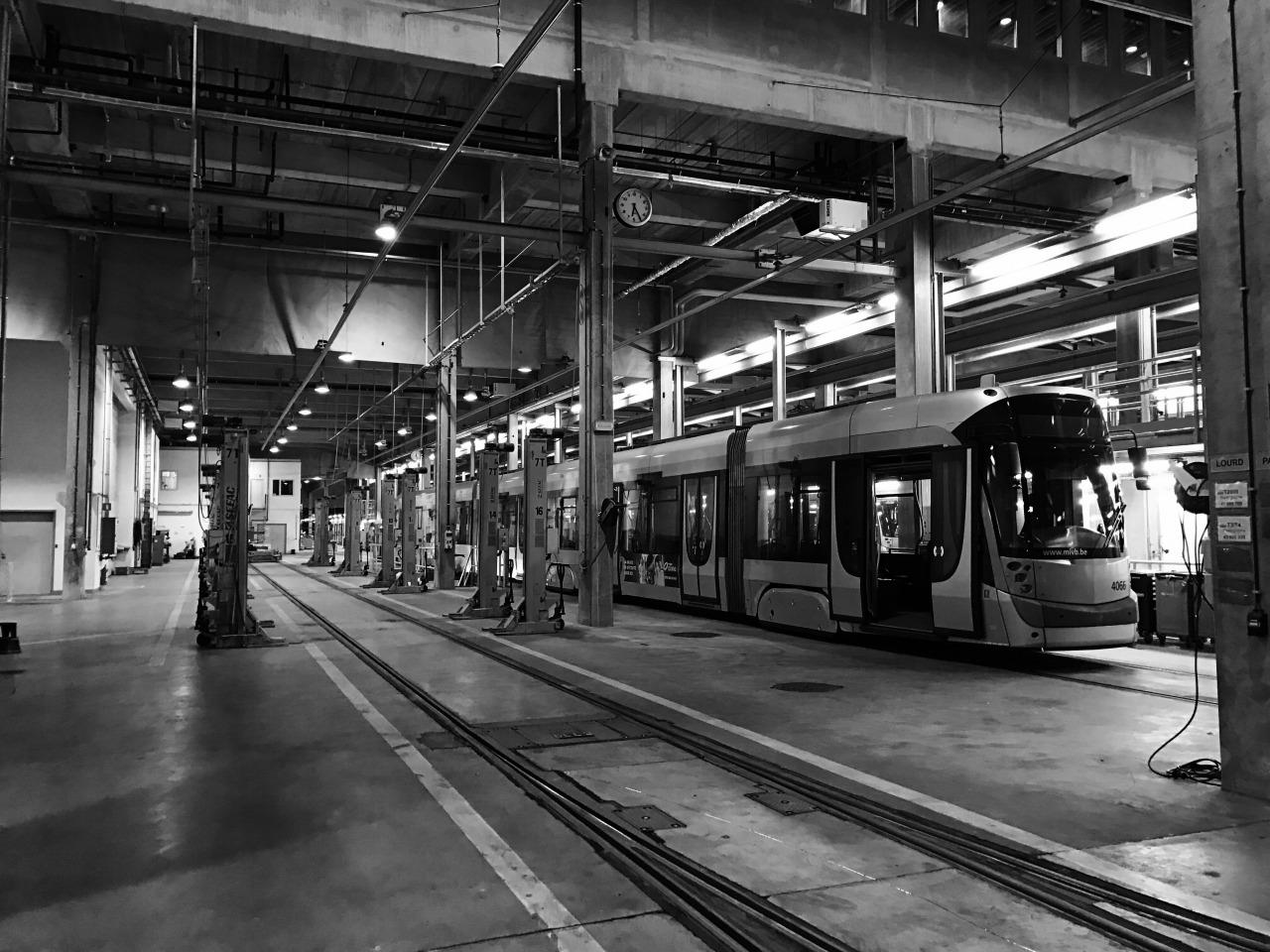STIB date : les coulisses du tram