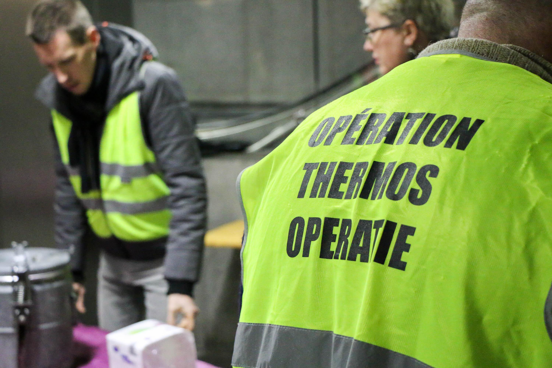 La STIB et l'Opération Thermos : un partenariat qui réchauffe les coeurs
