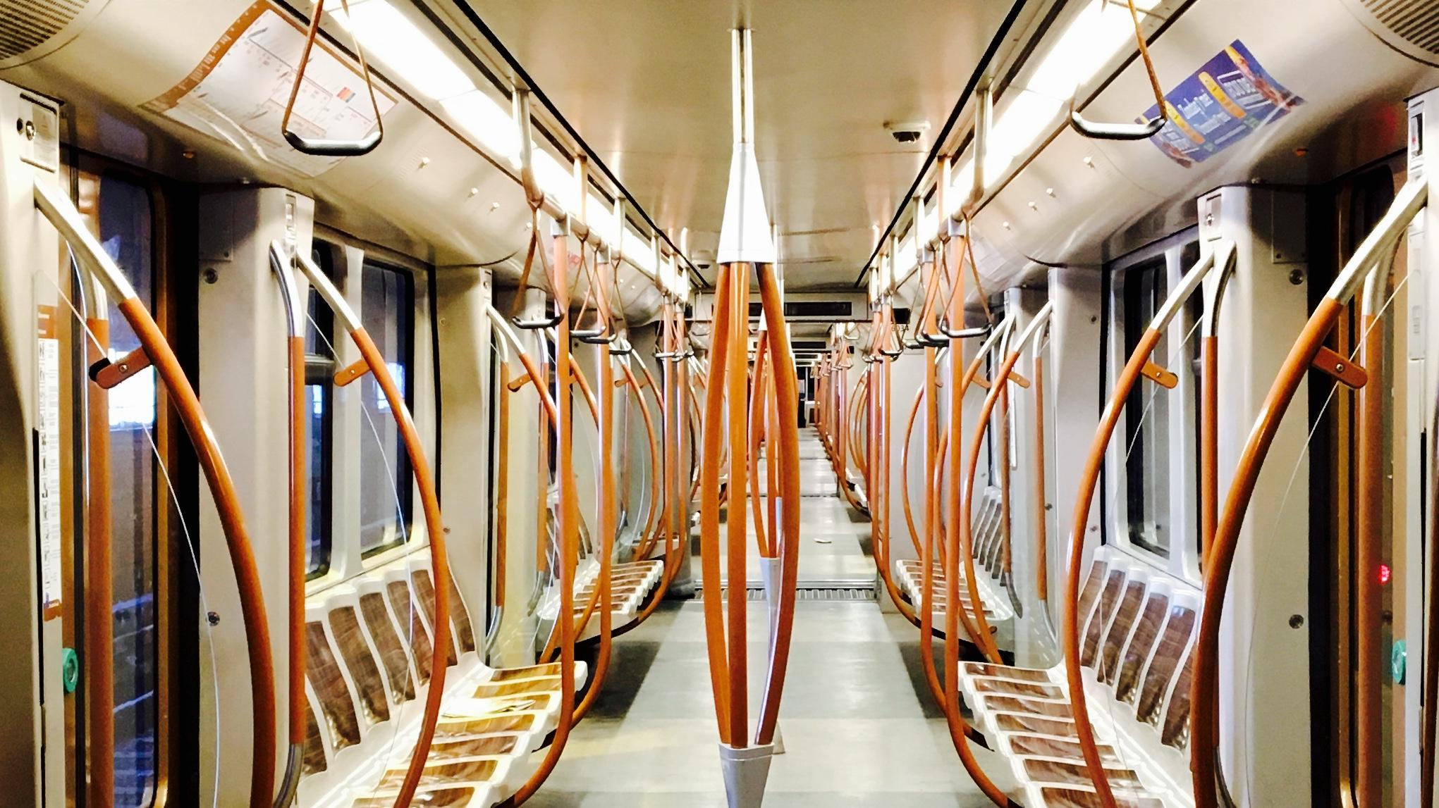 Des métros plus lumineux