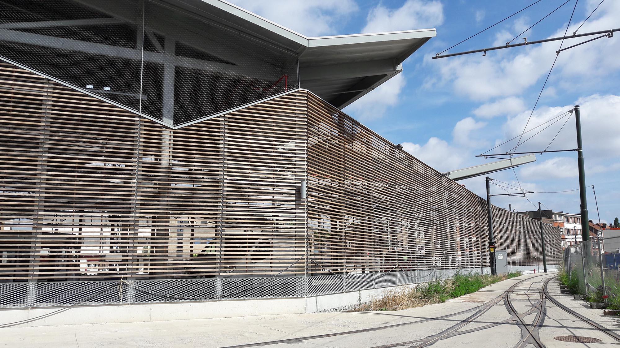 Un nouveau toit pour nos trams : le dépôt Marconi
