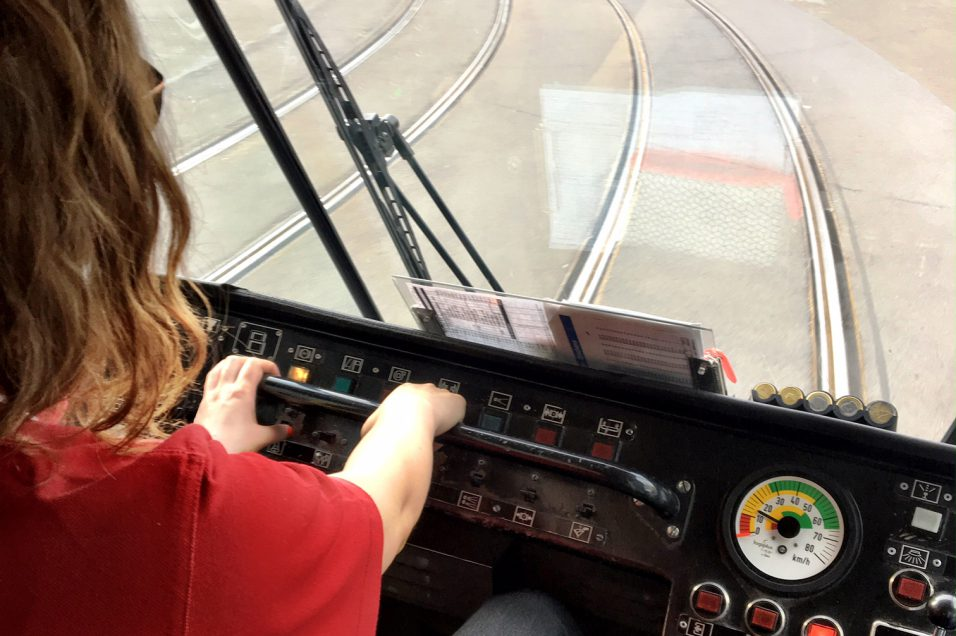 blog conductrice de tram stib