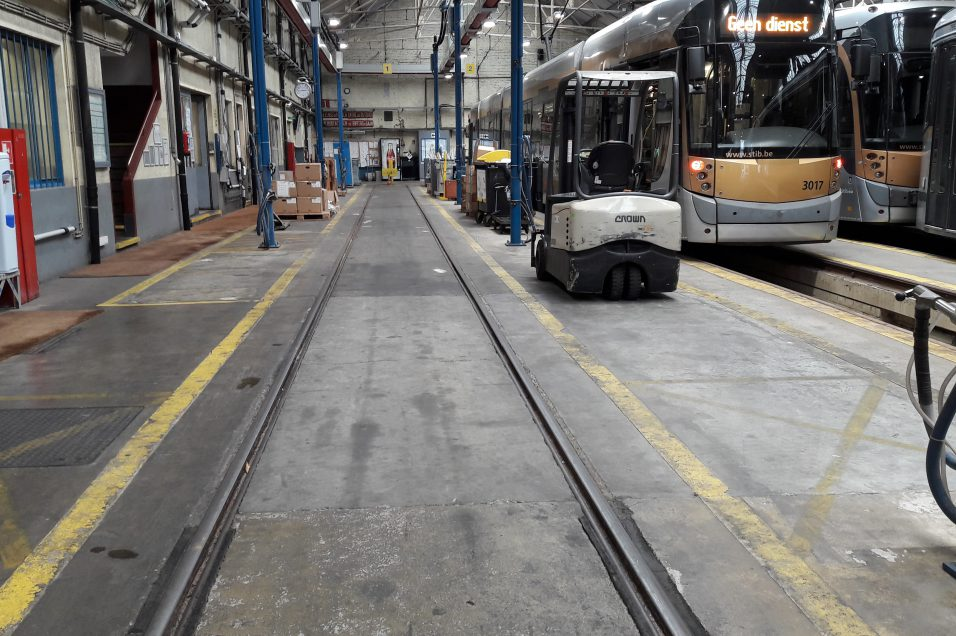 stib tram molenbeek mivb
