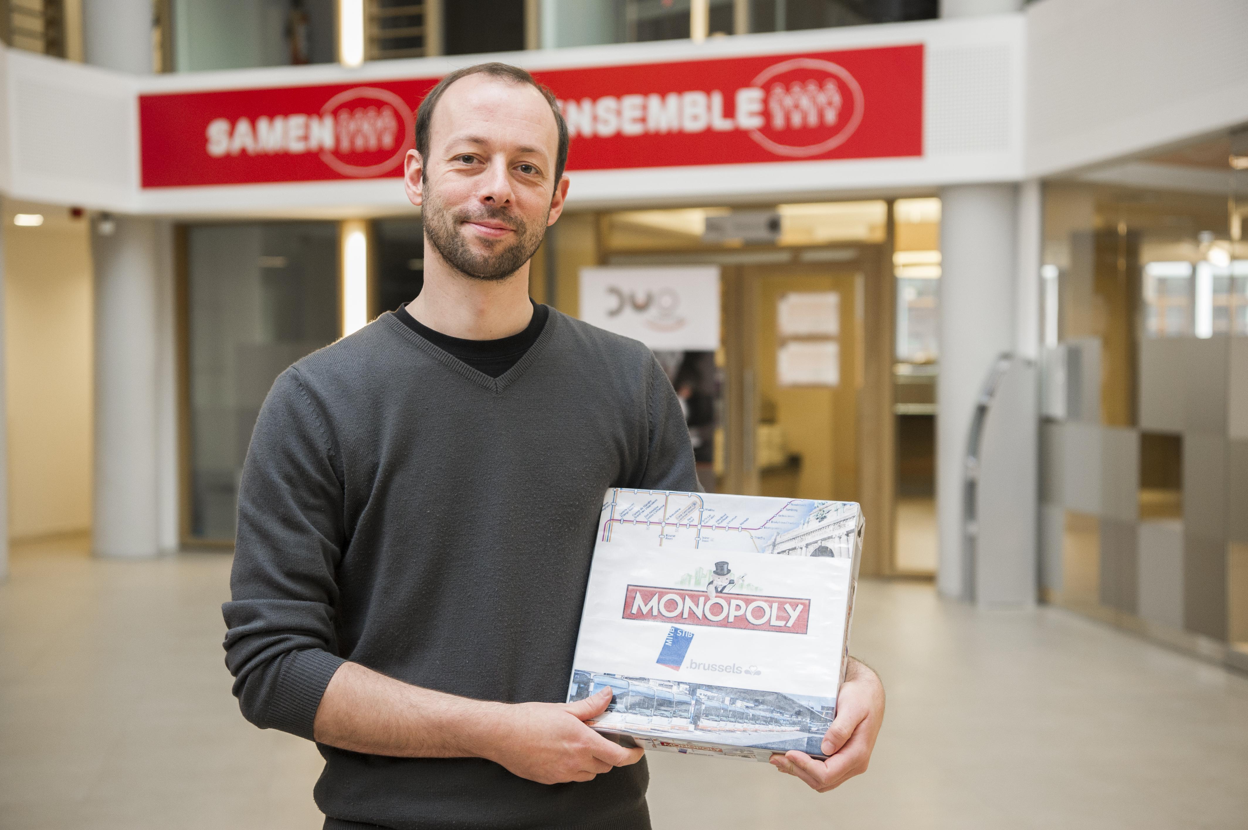 Le Monopoly STIB : rendez-vous Porte de Namur sans passer par la case départ !