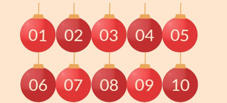 adventskalender calendrier de l'avent