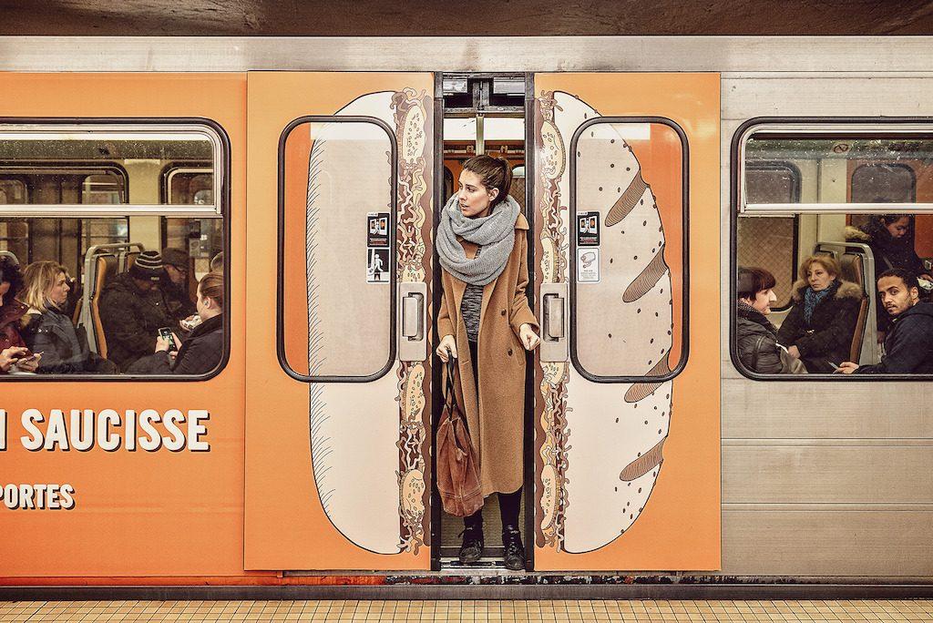Ponctualité du métro : ne bloquez pas les portes !