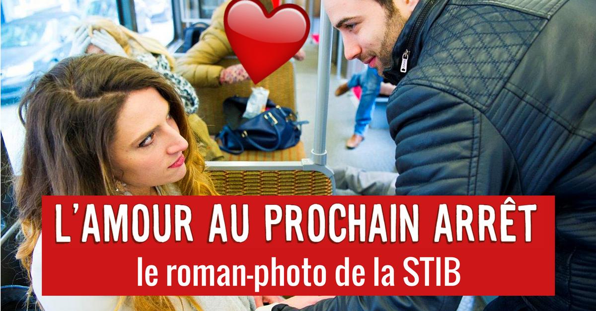 L'amour au prochain arrêt, le roman-photo bruxellois