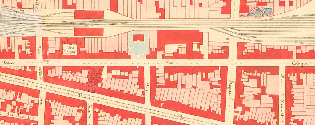 plan gare du nord rue de cologne