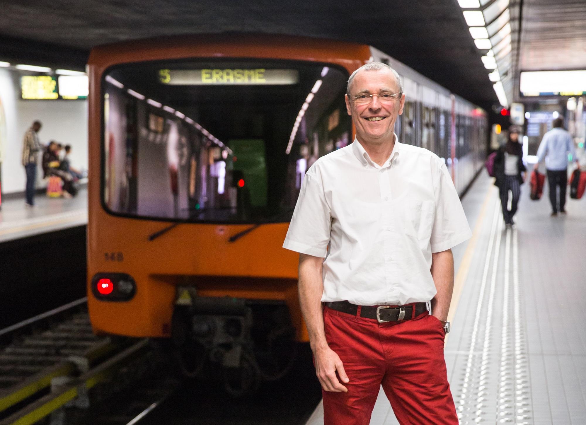 Interview : de la maintenance à la direction, une carrière entière à la STIB pour Geert Charita