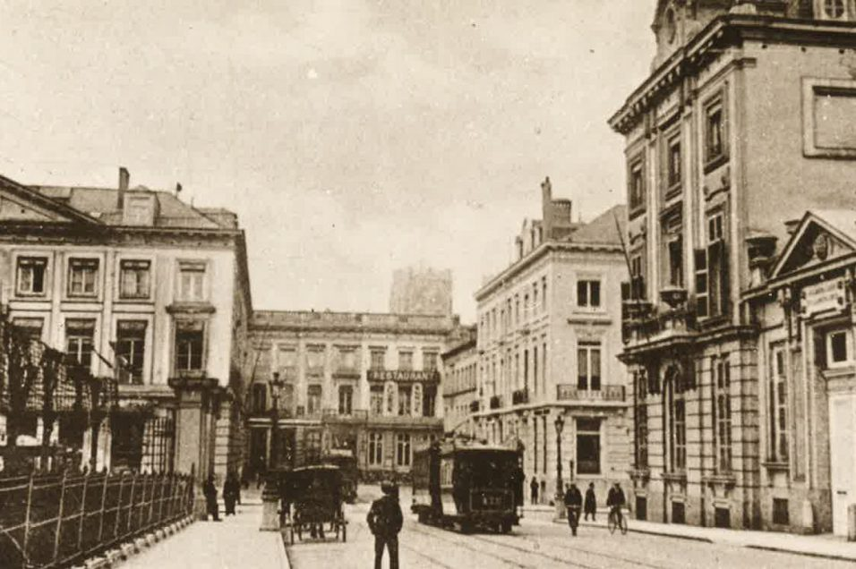 carrefour rue de la loi rue royale 1899