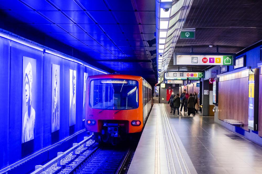 metro mx stib mivb